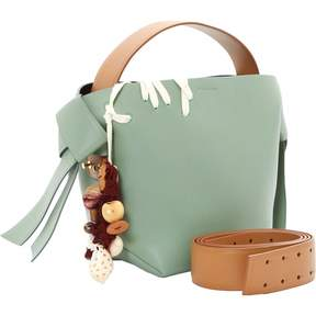 Acne Studios Green Leather Handbag