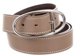 Hermes Reversible Oval 25mm Waist Belt
