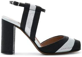 L'Autre Chose striped sandals