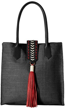 Badgley Mischka - Bailey Straw Tote Tote Handbags