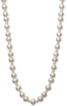 Belle de Mer Cultured Freshwater Pearl (4mm, 9-1/2mm) 36 Strand Necklace