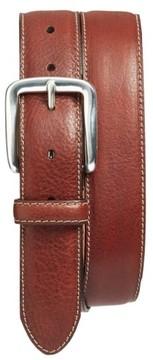Bosca Men's Washed Leather Belt