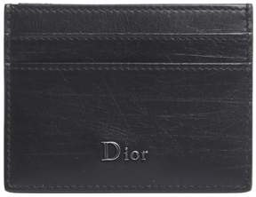 Christian Dior Card Holder With Metal Lettering