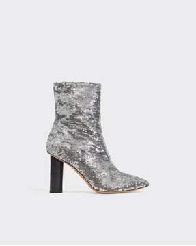 IRO | Abelin Boots | 8.5 us | Silver