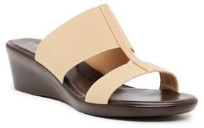 Italian Shoemakers Banded Wedge Sandal