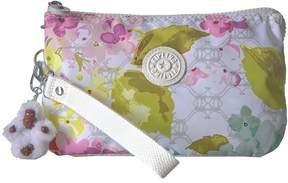 Kipling Creativity XL Pouch Clutch Handbags - LUSCIOUS FLOWER WHITE - STYLE