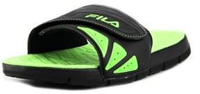 Fila Crosshatched Open-toe Leather Sport Sandal.