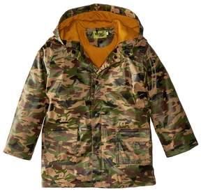 Western Chief Camo Rain Coat Boy's Coat