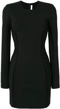 Dion Lee ladder detailed mini dress