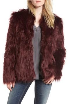 Chelsea28 Women's Faux Fur Jacket