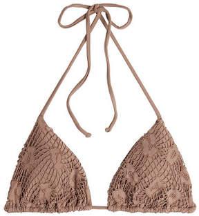 Luli Fama Triangle Bikini Top