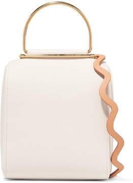 Roksanda - Besa Textured-leather Shoulder Bag - White