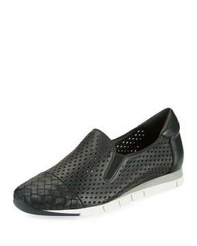 Sesto Meucci Caria Woven Perforated Napa Sneakers