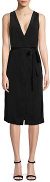 C/Meo COLLECTIVE Women's Plunging Wrap Dress