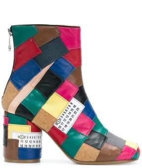 Maison Margiela colour-block boots