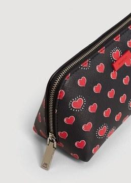 MANGO Printed cosmetic bag