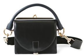 Sacai Hybrid Small Leather Coin Purse Satchel
