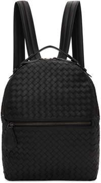 Bottega Veneta Black Intrecciato Backpack