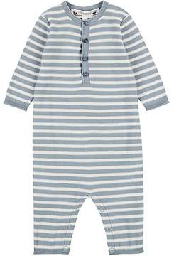 Bonpoint STRIPED COTTON COVERALL