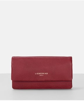 Liebeskind Berlin Slamh7 Milled Leather Long Fold Wallet.