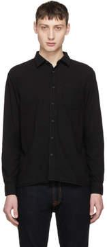 Nudie Jeans Black Henry Shirt