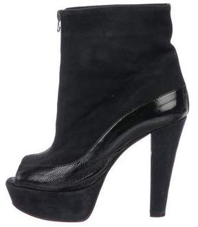 Marni Suede Platform Boots