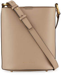 Donna Karan Adan Smooth Leather Bucket Bag