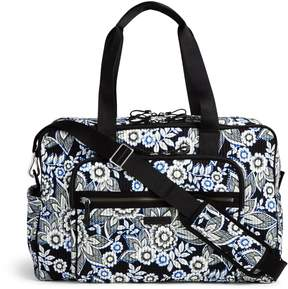 Vera Bradley Iconic Deluxe Weekender Travel Bag - WINTER BERRY - STYLE