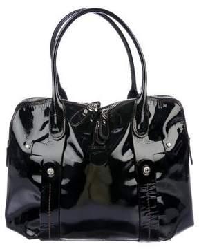 Salvatore Ferragamo Patent Leather Palmira Bag
