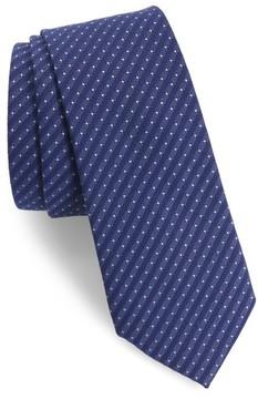 1901 Men's Limestone Dot Skinny Tie