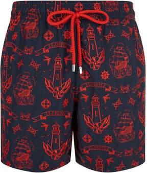 Vilebrequin Embroidered Mistral Tattoo Swim Shorts