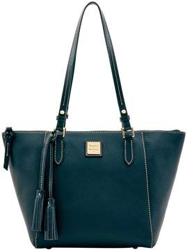 Dooney & Bourke Pebble Grain Maxine Tote - BLACK BLACK - STYLE