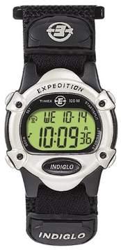 Timex Unisex Expedition Digital Fast Wrap Velcro Strap Watch Black T47852