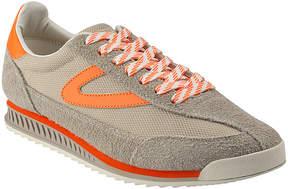 Tretorn Gray & Orange Rawlins Suede Sneaker - Men