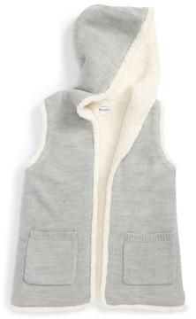 Splendid Girl's Hooded Knit Vest