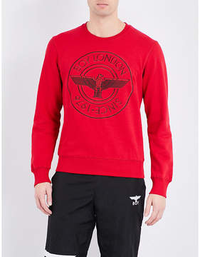 Boy London Eagle-print cotton-jersey sweatshirt