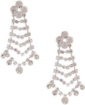 Cezanne Rhinestone Waves Earrings