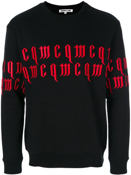McQ appliquéd sweatshirt