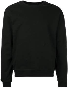 RtA zip detail sweatshirt