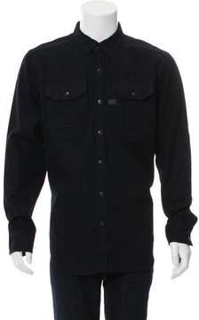G Star Denim Button-Up Shirt