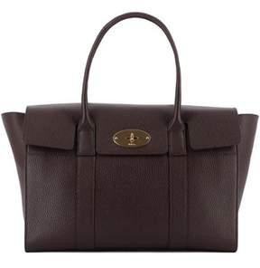 Mulberry Women's Burgundy Leather Shoulder Bag.