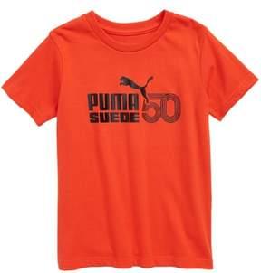 Puma Suede 50th Anniversary Logo T-Shirt