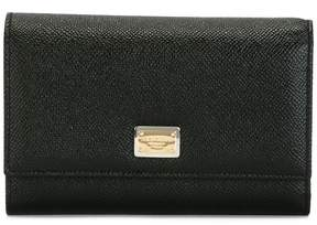 Dolce & Gabbana fold out purse - BLACK - STYLE