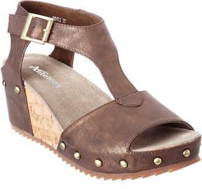 Antelope 552 Leather Wedge Sandal