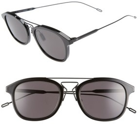 Christian Dior Men's 52Mm 'Black Tie' Sunglasses - Black