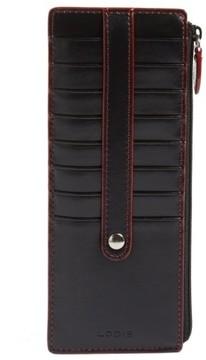 Lodis Women's Audrey Rfid Leather Credit Card Case - Black
