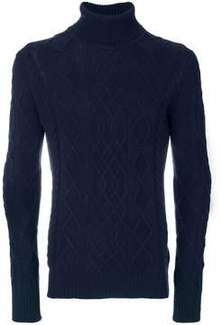 Ballantyne aran knit jumper