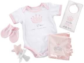 Baby Aspen Baby Girl 6-pc. Little Princess Bodysuit