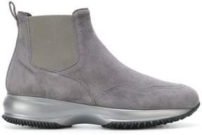 Hogan low heel boots