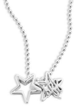 Alex Woo Little Words Sterling Silver Best Friends Necklace